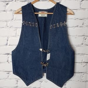 Vintage Levi's Blue Jean Vest